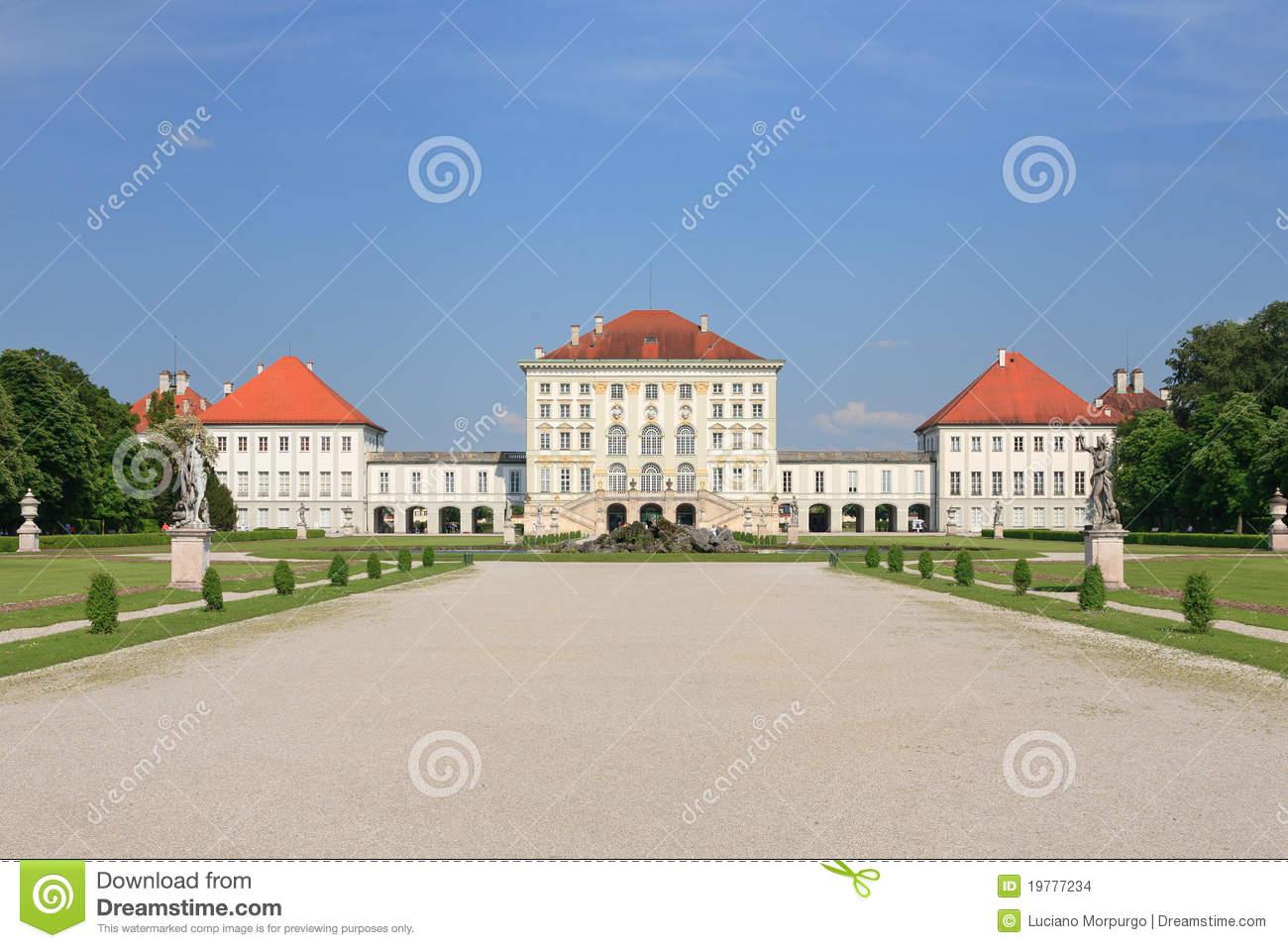 Nymphenburg Palace, Munich.