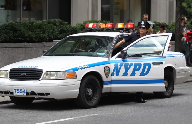 NYPD detains a 7 year old boy over 5 dollars.