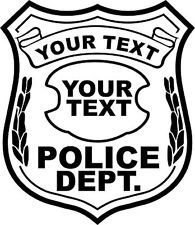 Blue Police Badge Clipart.