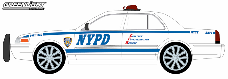 Hot Pursuit NYPD 2008 Crown Victoria Series 12.