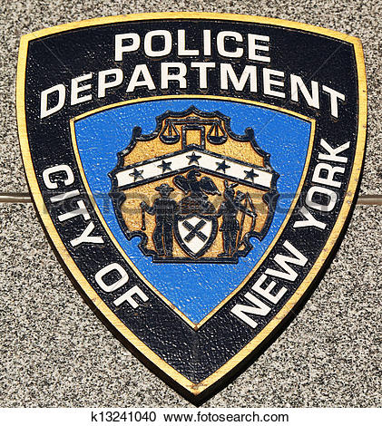 Stock Photography of NYPD emblem k13241040.