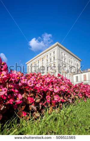 Castle Munich Nymphenburg Park Stock Photos, Royalty.