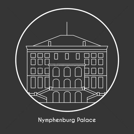 Free Nymphenburg Palace Stock Vectors.
