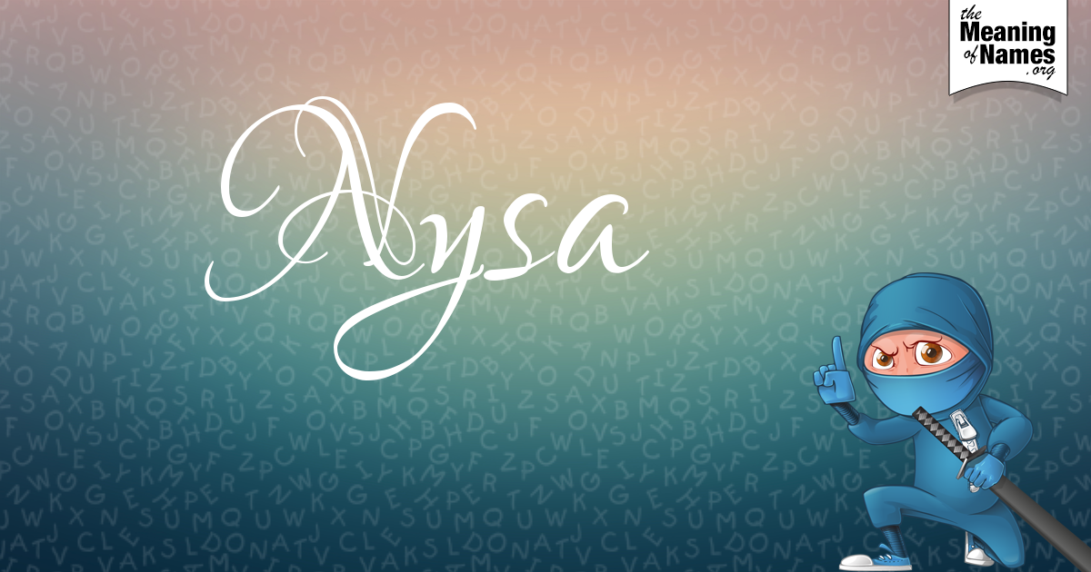 What Does The Name Nysa Mean?.