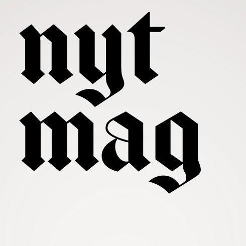 New York Times Magazine redesign includes a new logo, fonts.
