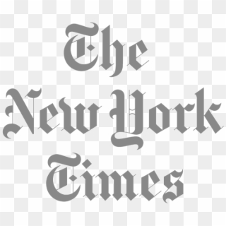 New York Times Logo Transparent PNG Images, Free Transparent.