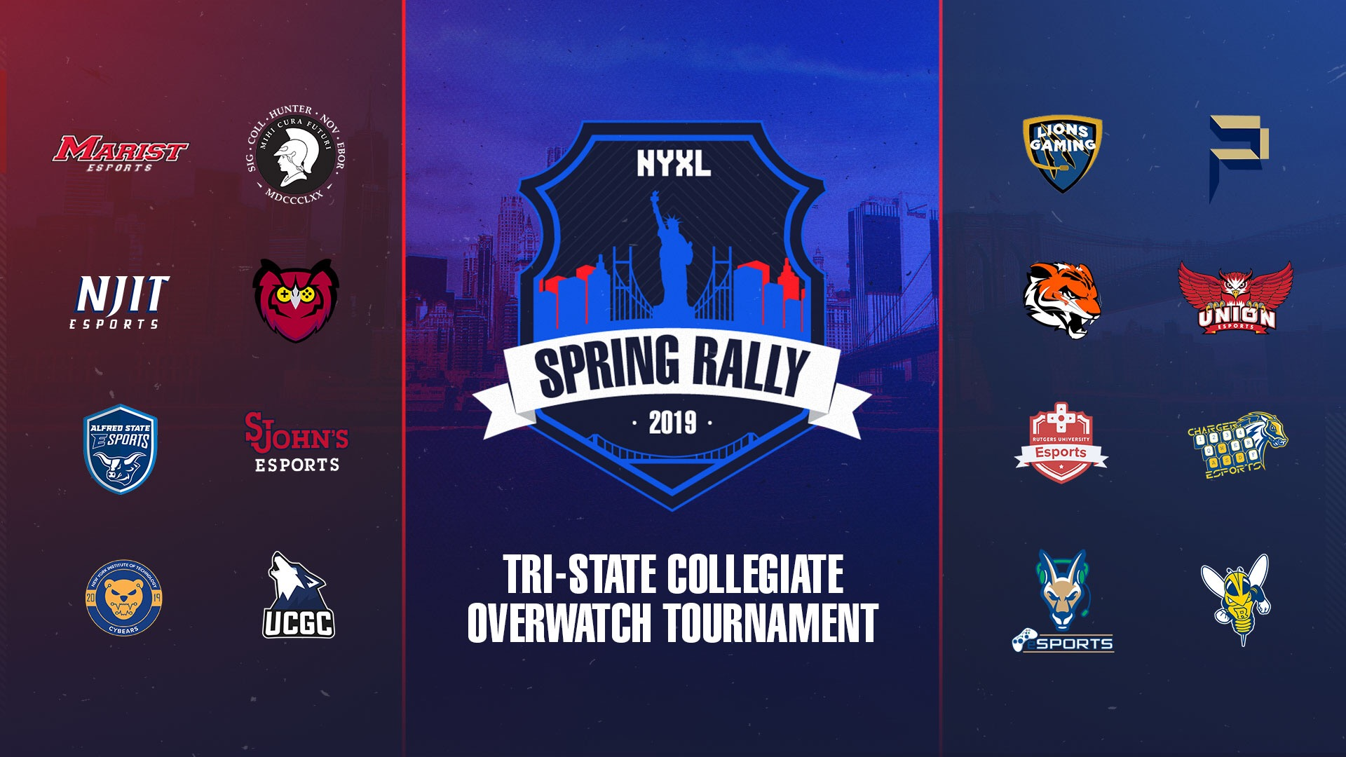 NYXL Hosts Collegiate Overwatch Tournament.