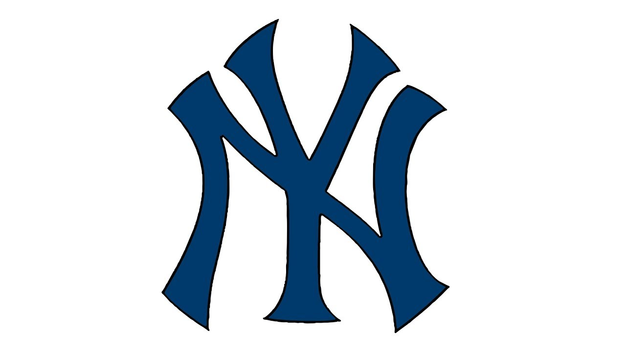 How to Draw the New York Yankees Logo (MLB).
