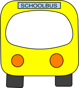 School Bus Clip Art at Clker.com.