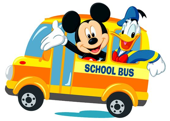 Disney School Bus Clipart.
