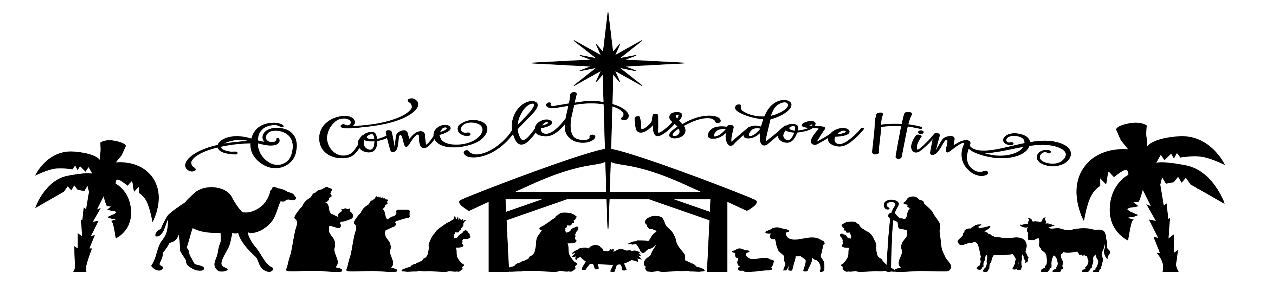 O Come Let Us Adore Him Clipart (113+ images in Collection.