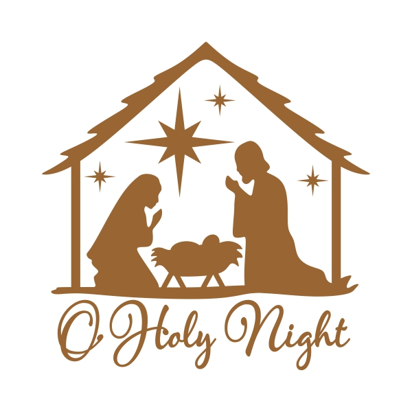 Oh Holy Night Clipart.