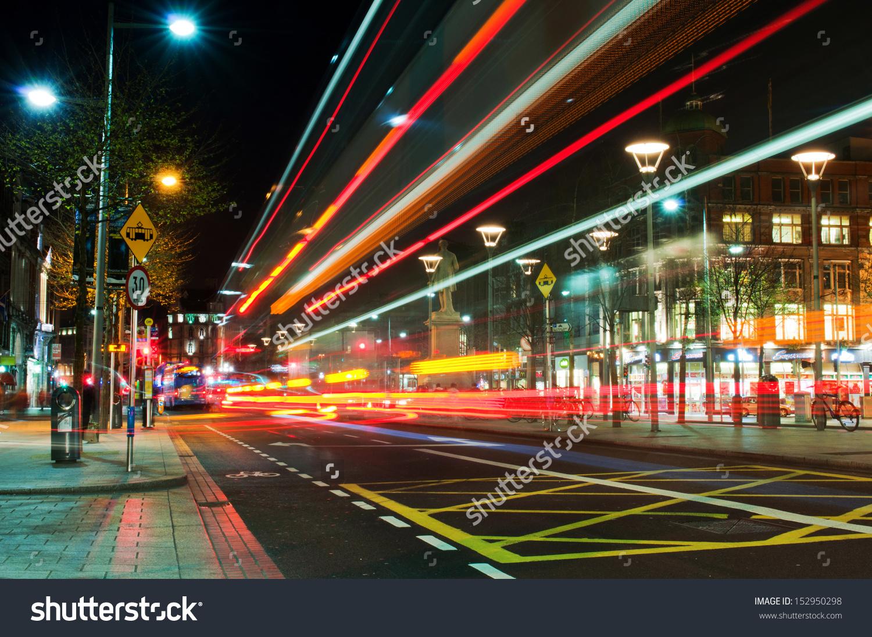 Dublin Ireland March 27 Stunning Night Stock Photo 152950298.