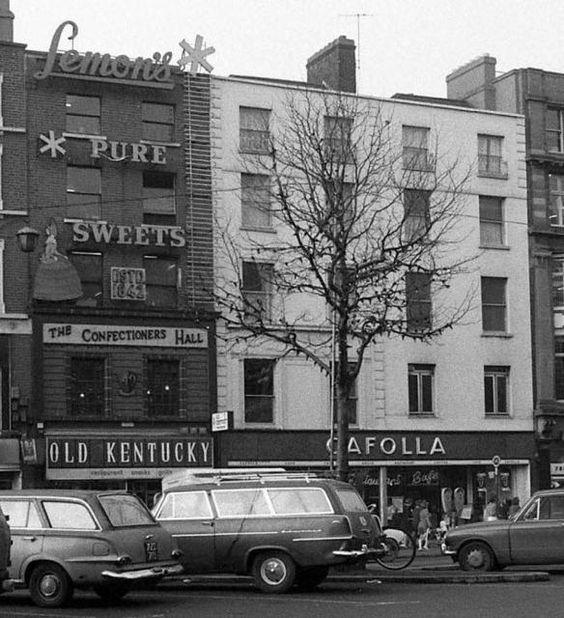 Old Kentucky, Cafolla, O'Connell Street, 1971.