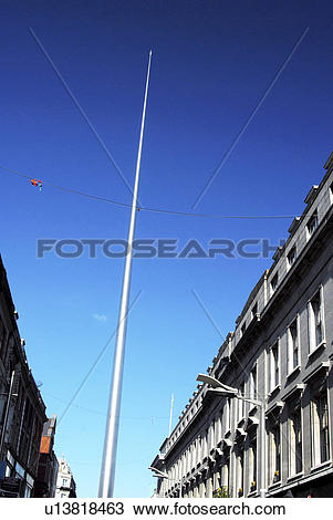 Stock Photo of Republic of Ireland, Dublin, O'Connell Street, A.