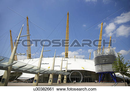 Stock Photography of England, London, Greenwich, Exterior view of.