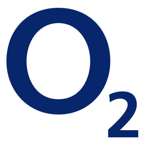 O2 Logo transparent PNG.