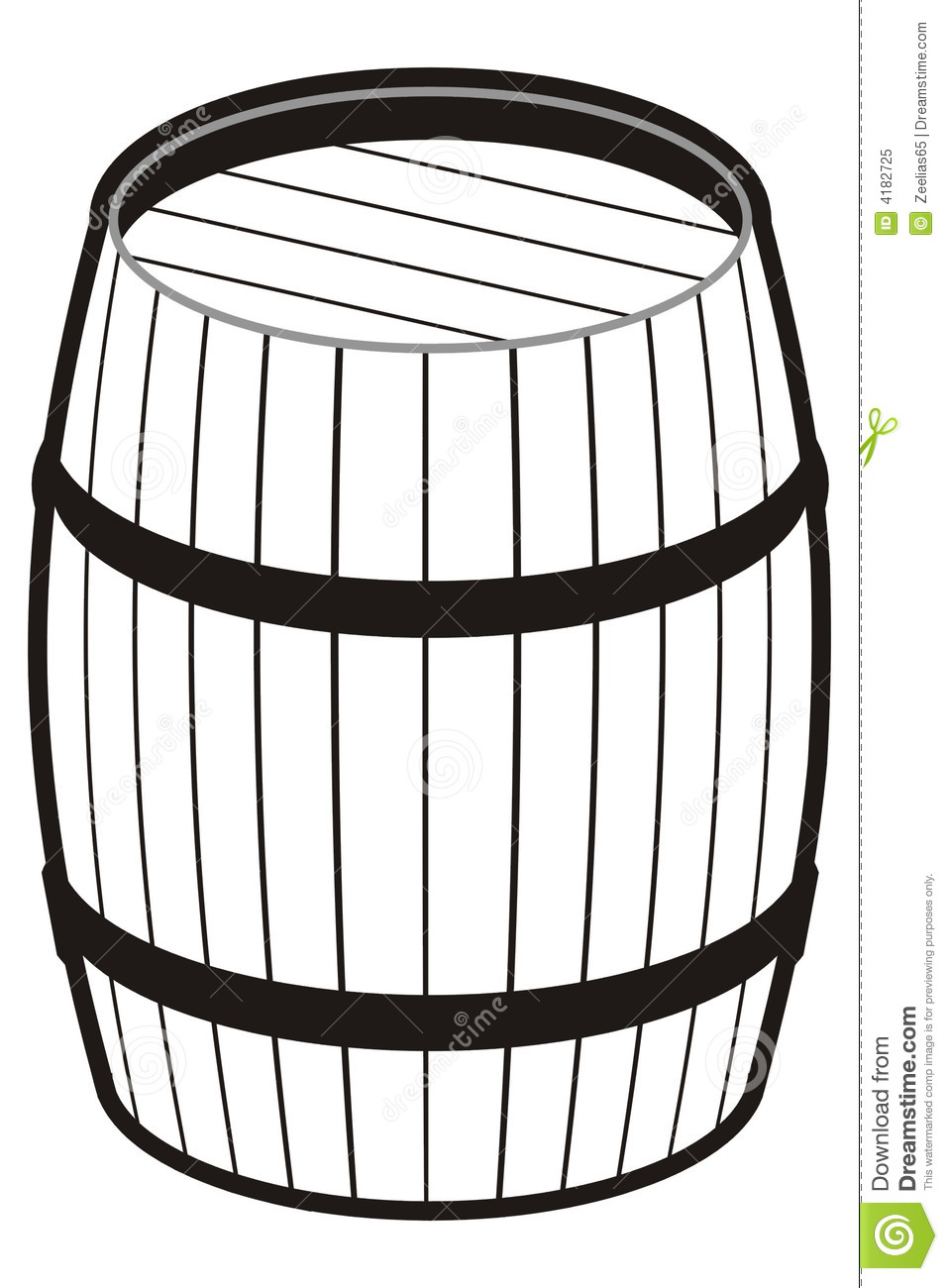 Barrel Royalty Free Stock Photo.