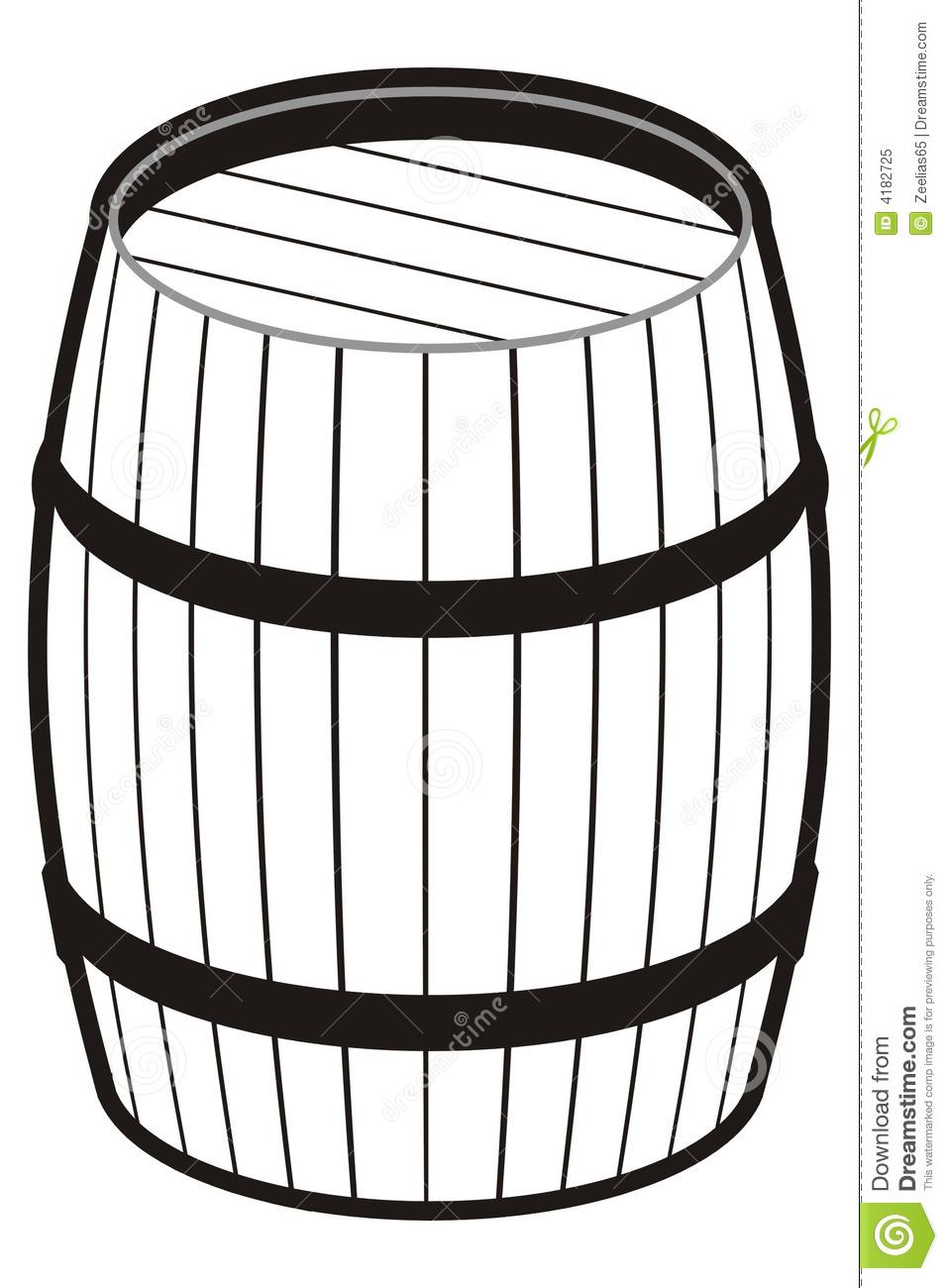 Barrel Royalty Free Stock Photo.