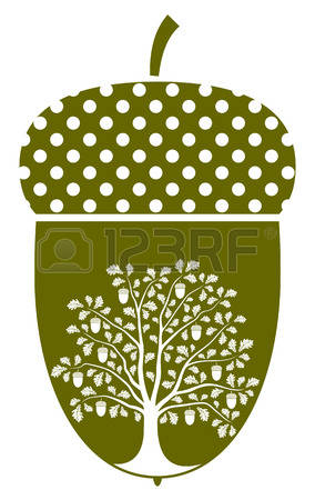 Oak Seeds Stock Illustrations, Cliparts And Royalty Free Oak Seeds.