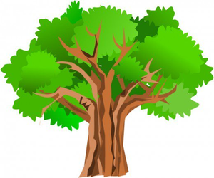 Free Clipart Oak Trees.