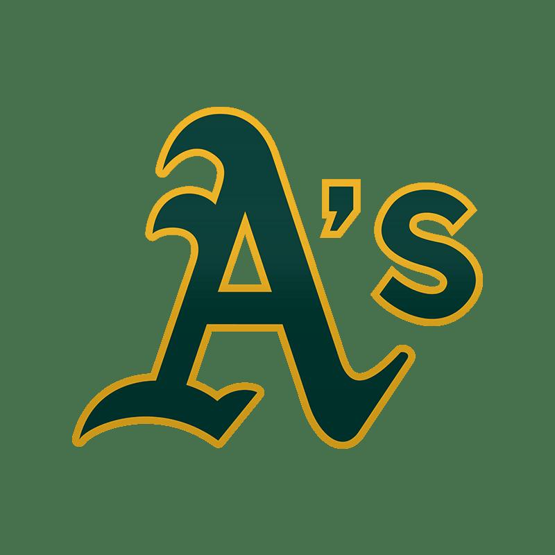 Oakland Athletics A Logo transparent PNG.