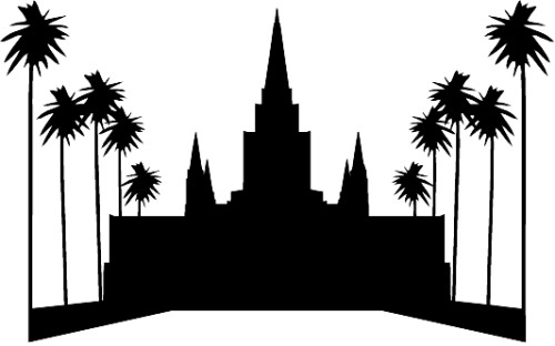 Oakland temple clipart.