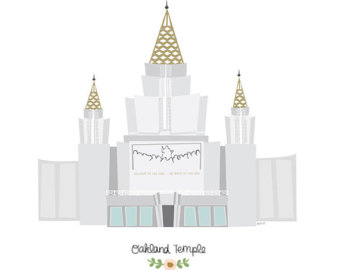 Oakland temple.