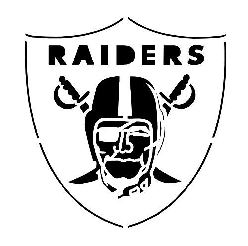Details about NFL ** OAKLAND RAIDERS STENCIL ** FREE USA S&H.