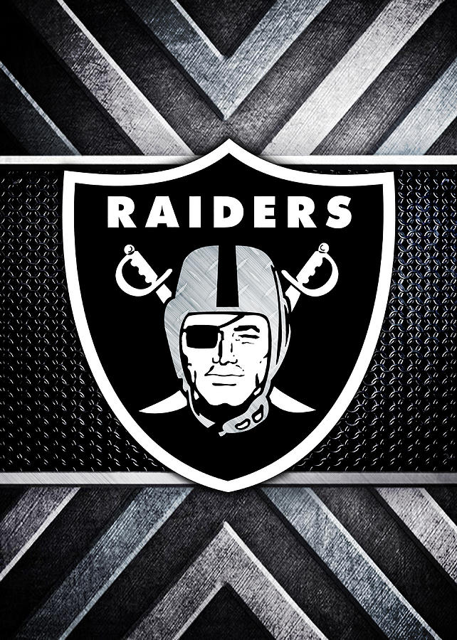Oakland Raiders Logo Art.
