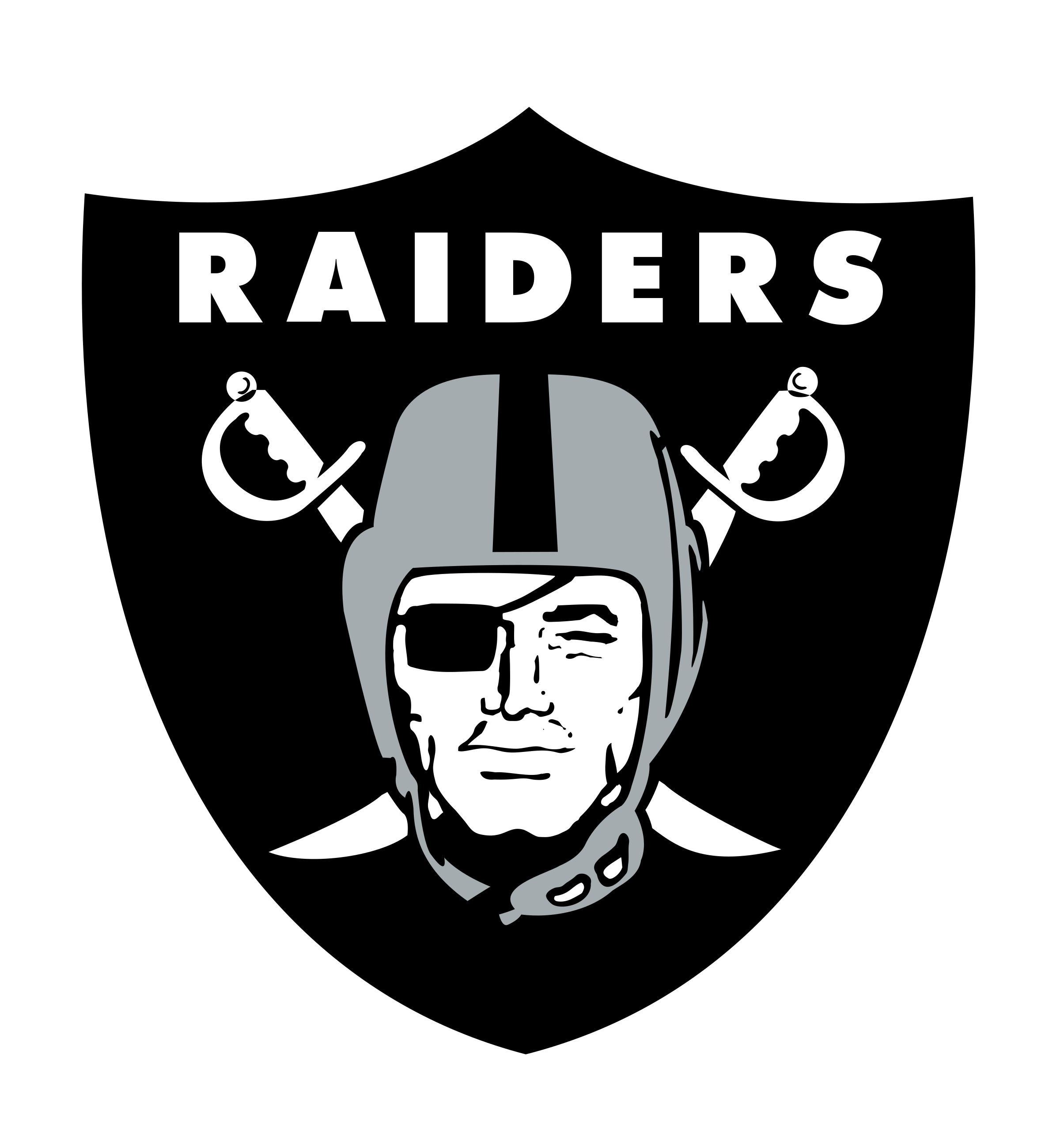 Oakland Raiders Logo PNG Transparent & SVG Vector.
