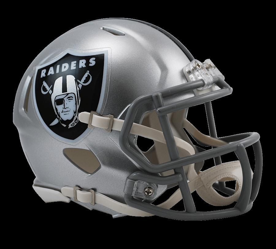Oakland Raiders Helmet transparent PNG.