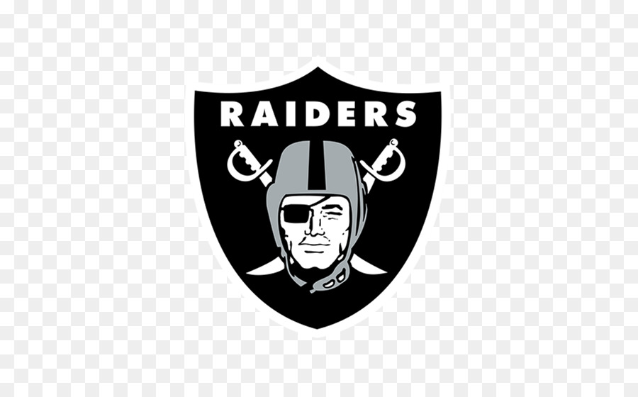 Oakland Raiders Black png download.