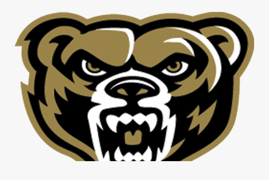 Oakland University Grizzly Logo , Free Transparent Clipart.