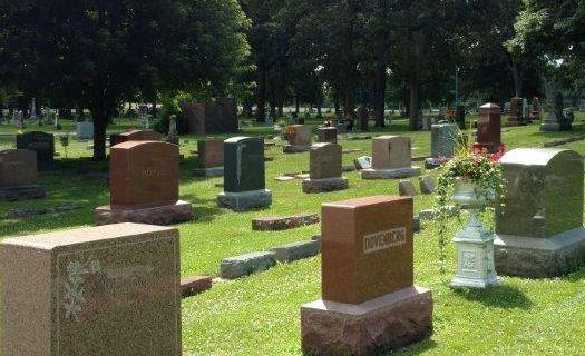 Oakwood cemetery clipart #7