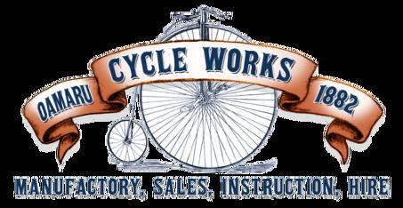 OAMARU CYCLE WORKS 1882.