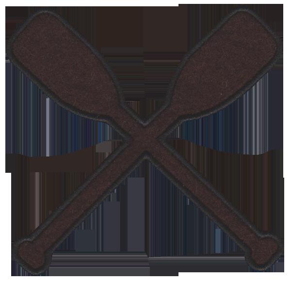 Boat oars clipart.