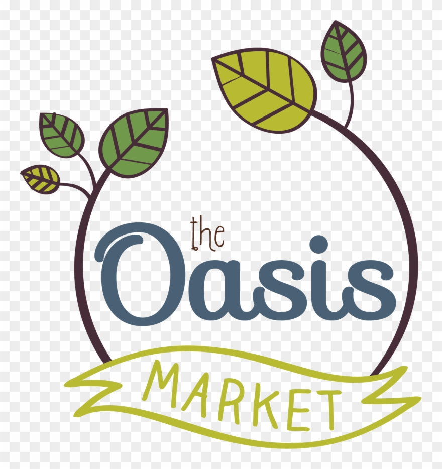 Logo For The Oasis Market Clipart (#3231107).