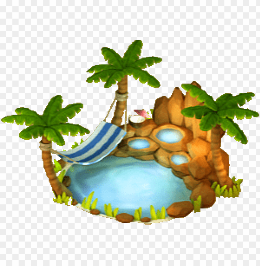 oasis PNG image with transparent background.