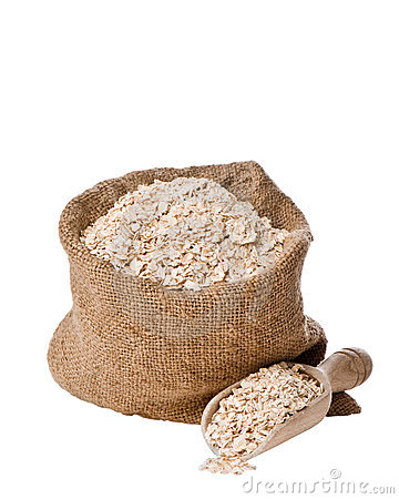 Rolled Oats Stock Photos.