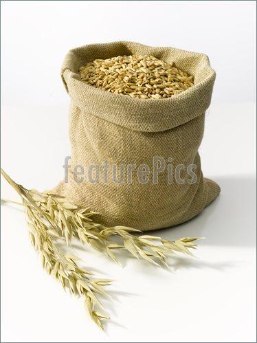 Bags Of Grain Clipart.
