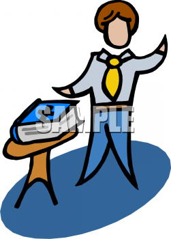 Oath of office clipart.