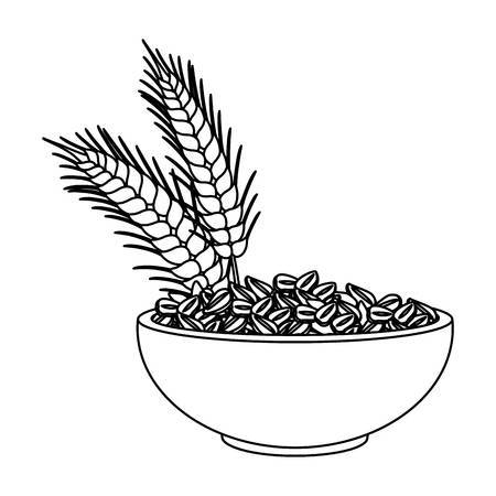 Oatmeal clipart black and white 4 » Clipart Portal.