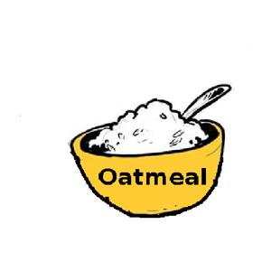 Oatmeal Clipart.