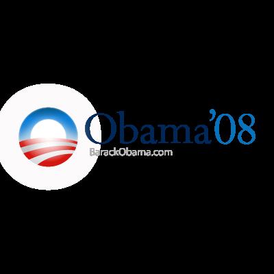 Barack obama 2008 logo vector.