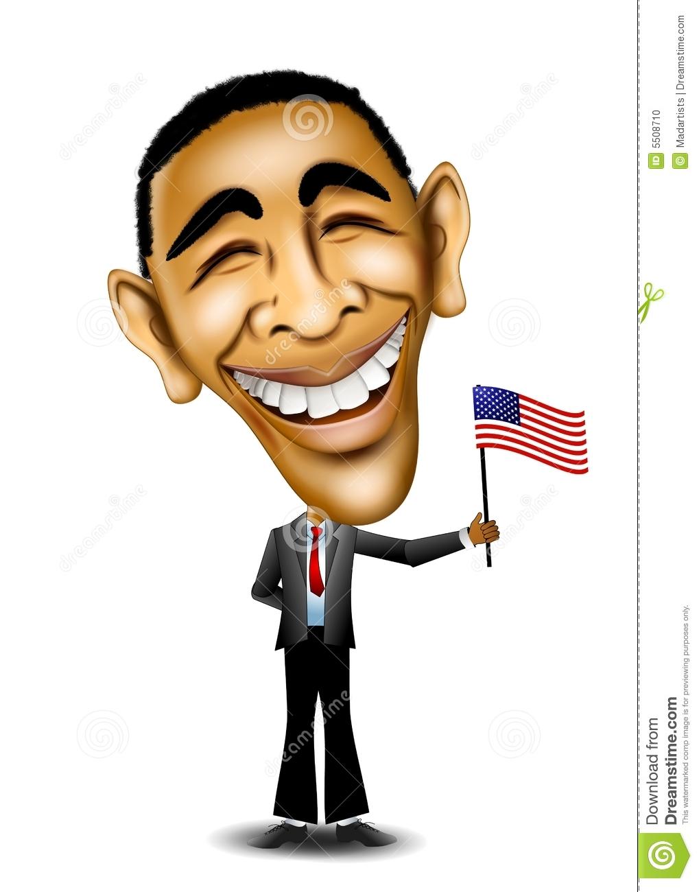 President Barack Obama Editorial Image.