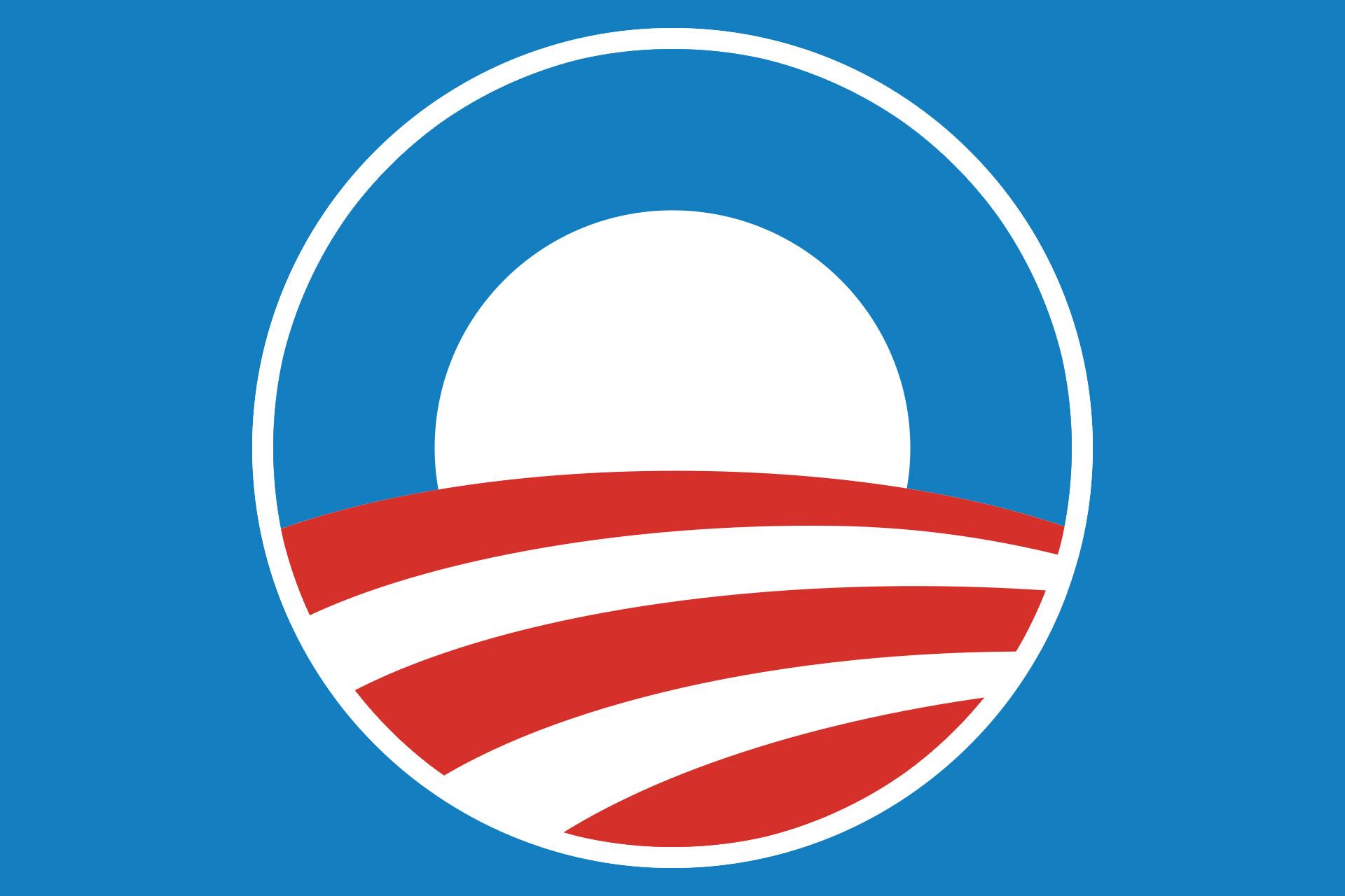 Meaning Obama logo and symbol.