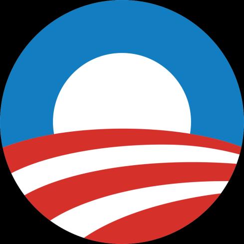 Barack Obama\'s campaign logo, designed by Sol Sender for the.