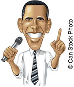 Obama Illustrations and Clipart. 221 Obama royalty free.
