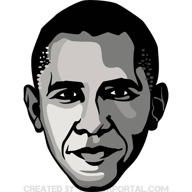 Obama Free Vector.